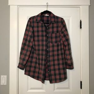 Perfect oversized vintage flannel